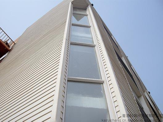 PVC外墙挂板系统