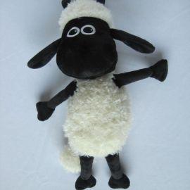 英国肖恩小羊毛绒玩具公仔 专业礼品玩具加工定制