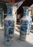 上海陶瓷大花瓶,開業大花瓶