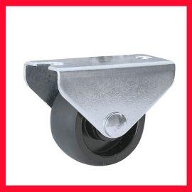 0.6-1.8吋平板定向家具脚轮,定向塑料小PP轮