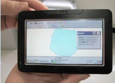农田面积测量仪TMJ-II进行精细农业作业