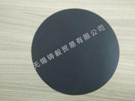 6寸8寸12寸圆形黑色导电片导电晶圆垫片导电硅胶垫隔离片PE塑料
