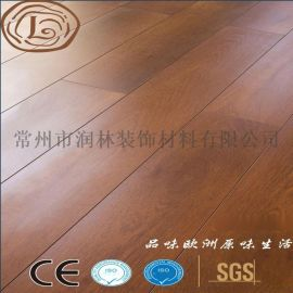 家用12毫米仿菠萝格复合乙烯基木质地板
