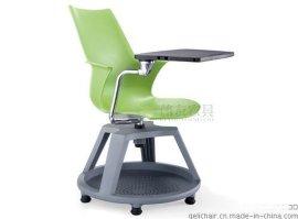 广东高档带轮塑料培训椅厂家