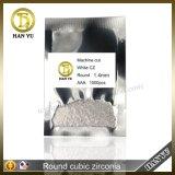 AAA 级 白色立方氧化锆2mm小圆形锆石梧州人造宝石现货出售