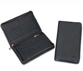 多功能卡包 钱包拉链包 真皮大容量手抓包 FL35