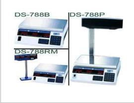寺冈DS-788P电子计价秤 788P带立臂称重显示 优质计价电子桌秤