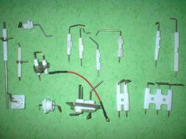 供应陶瓷点火针,感应针,点火碍子,点火棒,感应棒,火花塞,烤炉照明灯电线,点火线