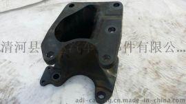 奥贝球铁方向机支架QT1000-5 覆膜砂铸件 翻砂 精密铸造