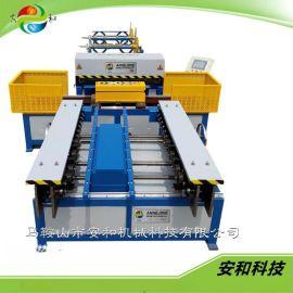 成都安和全自动风管生产线共板法兰成型机 风管设备生产厂家