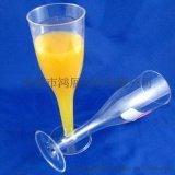 一次性香檳杯/硬塑料香檳杯/紅酒杯/冰激凌杯/試飲杯HZ-03
