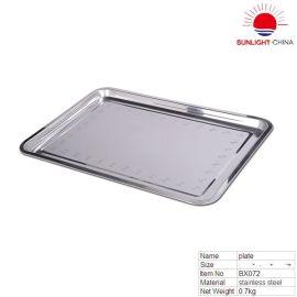 不锈钢餐盘,食物盘,餐厅盘