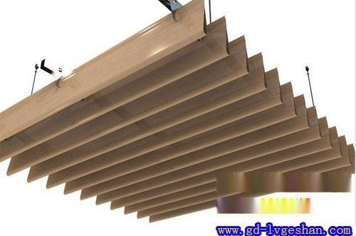 铝挂片吊顶 木纹铝挂片 **铝挂片规格