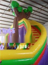 童朔002儿童进口材质充气大滑梯 可定制大滑梯