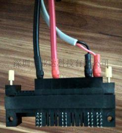 FCI 连接器替代 压线8P+24S 插片式连接器
