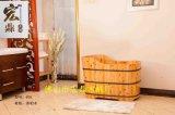 齒接香柏木沐浴桶070進口橡木沐浴桶, 足浴桶,蒸汽桶,歐式仿古桶,疊加桶桑拿房, 泡澡桶, 蒸腳桶, 薰蒸桶, 足療盆.