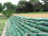 防汛編織袋廠家供應生態袋 綠色土工布袋邊坡防護袋實拍