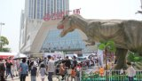 北京变形金刚出租,仿真恐龙出租