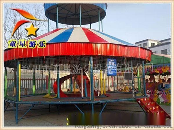 儿童大爱的蹦蹦床成熟运行模式广场新型游乐设备