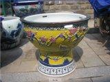 供應陶瓷花盆定製廠 景德鎮青花瓷缸製作廠家