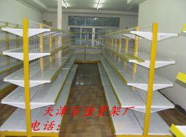 天津超市货架便利店展示架进口食品柜母婴店药店单双面木质批发