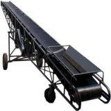 加長型橡膠輸送機 散料用槽型皮帶輸送機qc