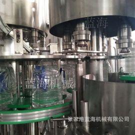 供应桶装水灌装机 瓶装纯净水灌装生产线酱油 米酒全自动灌装设备