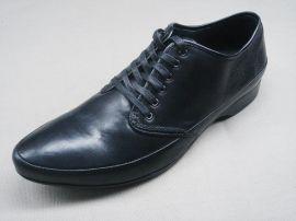 2010年新款头层牛皮+头层猪皮外贸男士商务皮鞋(PJ010636)