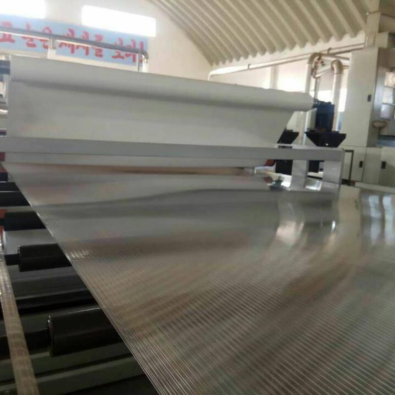 PC中空阳光板材挤出生产线