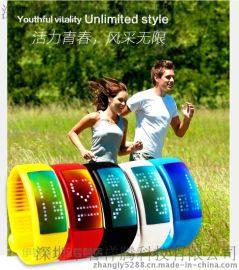 厂家直销智能穿戴设备3D手环计步器|多功能手表U盘8GB