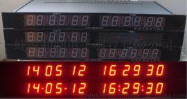 NTP计算机房网络机柜安装标准1U机架尺寸时间显示器