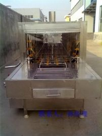全自动塑料周转筐清洗机@隧道式洗筐机
