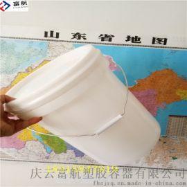 山东20升敞口化工桶 20公斤广口塑料桶规格