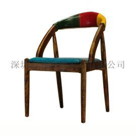 香港复古咖啡厅桌椅 休闲户外铁艺桌椅 餐厅桌椅