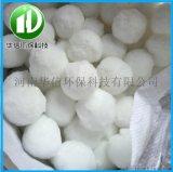 纤维球滤料原生原白水处理用高效纯白纤维球油水过滤