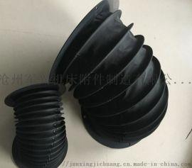 气缸 油缸用伸缩式防圆筒护罩 密封油缸保护套