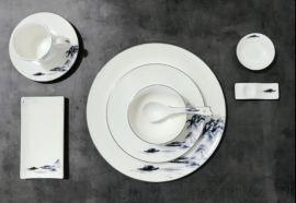 陶瓷餐具套装 酒店餐具定做
