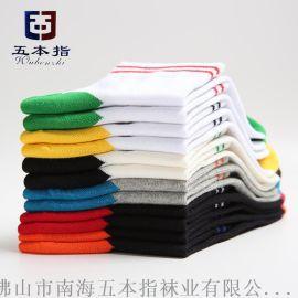 袜子生产厂家代工贴牌纯棉品牌运动袜