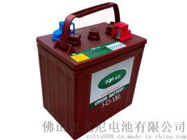 6V180AH 加水动力高尔夫车蓄电池
