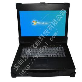 14寸工业便携机机箱定制铝外壳工控一体机  电脑加固笔记本采集