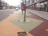彩色透水混凝土人行道仿彩色沥青透水混凝土