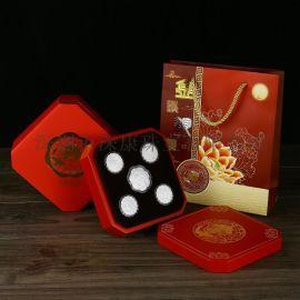 深圳广告促销纯银月饼加工厂答谢顾客礼品