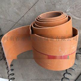 帆布输送带 爬坡输送带 工业提升带 橡胶帆布耐磨带