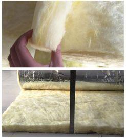10cm吸音棉 隔音棉 防火阻燃玻璃棉卷材 彩钢大棚保温隔热专用 10厘米1.2*20米加铝箔纸一卷