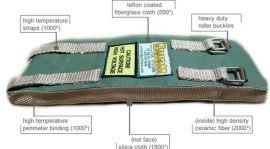 Ewat™可拆卸注塑机保温罩 保温套 注塑机加热圈