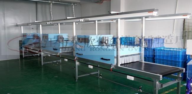 印刷塑胶行业专用烘干线体,变频调速,温度子控
