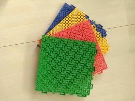 懸浮式拼裝地板 塑料拼裝地板 環保運動塑料地板
