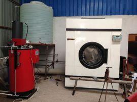 干洗店干洗机,烘干机配套用100kg燃油蒸汽锅炉 全自动立式燃油蒸汽锅炉 免**蒸汽发生器