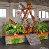 電動椰樹海盜船 可移動冰雪太空飛船 秋千椅遊樂設備