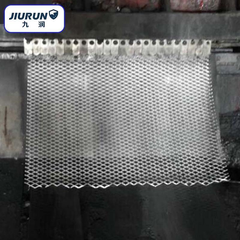 荐  3米宽重型菱形网  高强度超宽钢板网片 不锈钢冲孔网批发